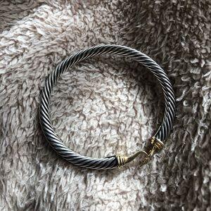 David Yurmam Cable Classic Buckle 14K gold, 5mm